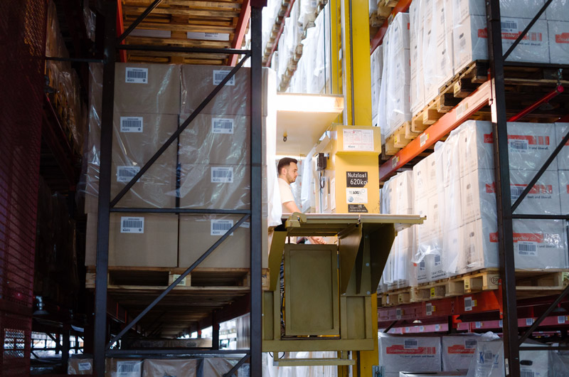 Kurz Logistics Group - Archiving documents & Digitizing documents